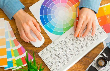 رنگهای متداول برای طراحی وب سایت در سال 2019